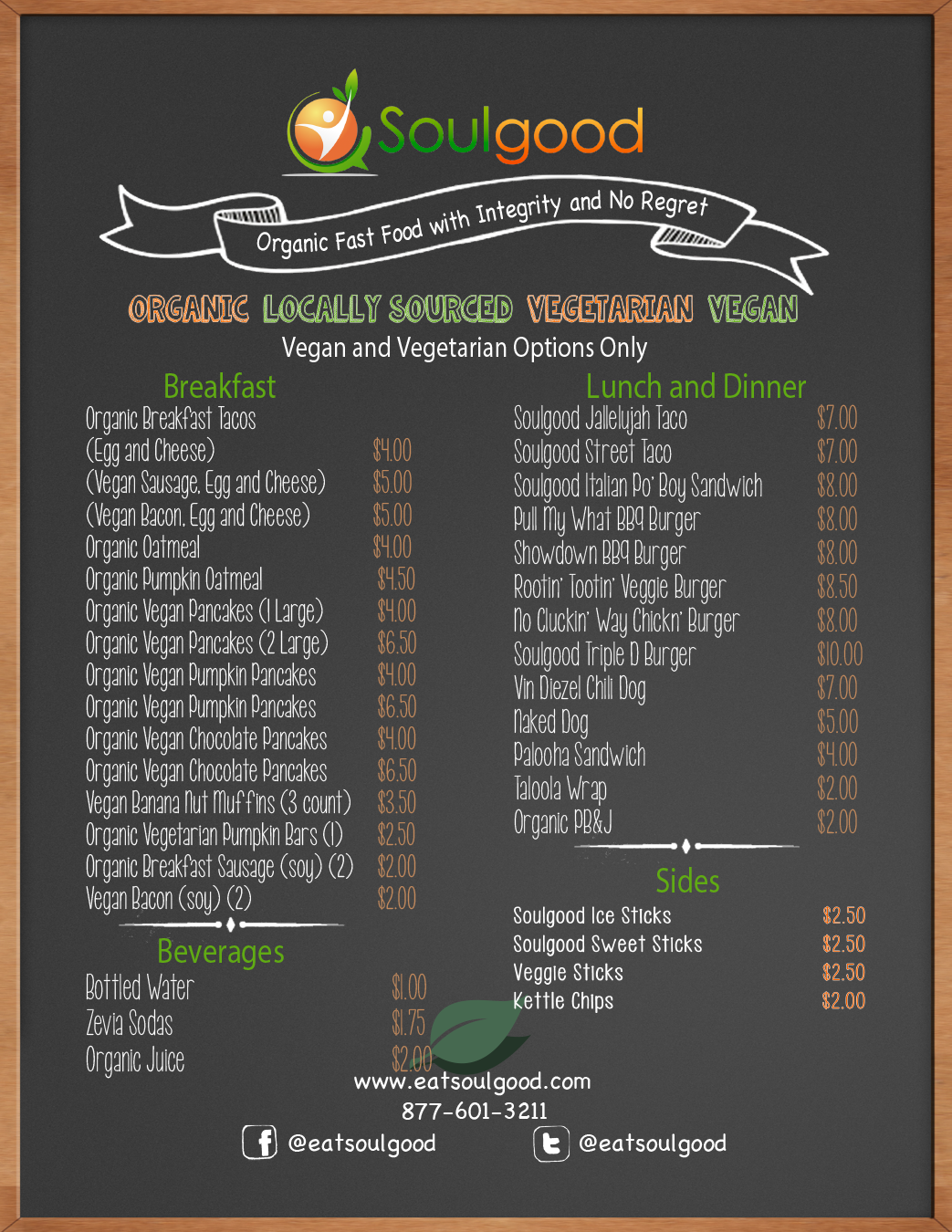 Organic Fast Food Dallas
